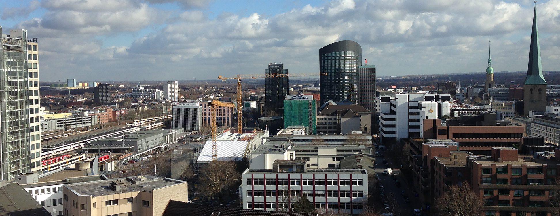 Η πόλη του Dortmund...